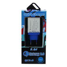 Сетевая зарядка Quick Charger 3.0 3.5mAh