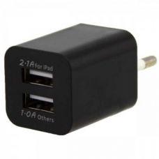 Сетевой адаптер питания AR-2100 5V 2100 mA 2 USB выхода