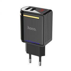 Зарядное устройство блок Hoco C39A 2USB 2.4A