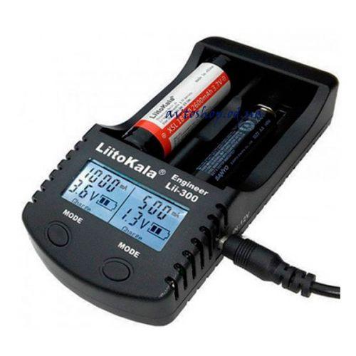 Зарядное устройство LiitoKala lii 300 с LCD-дисплеем