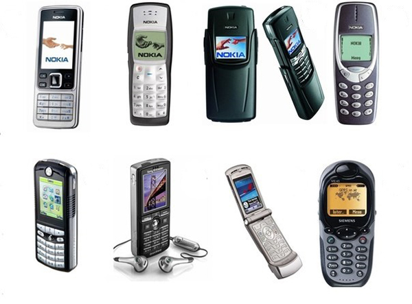 Кнопочные телефоны