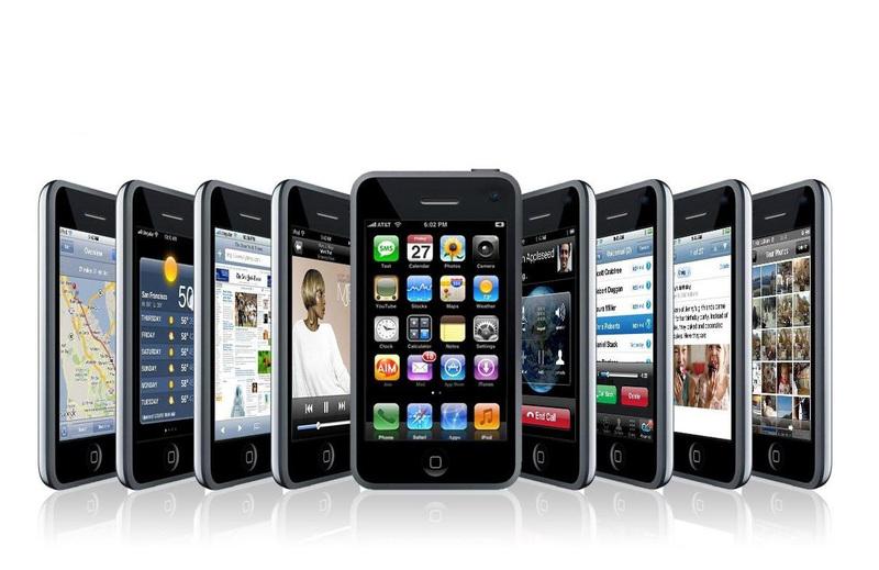 Сенсорные мобильные телефоны